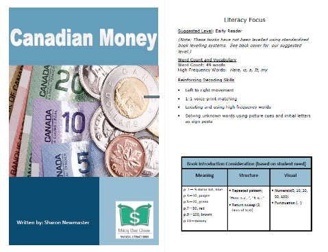 Canadian Money cover page