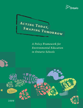 Acting Today, Shaping Tomorrow cover page
